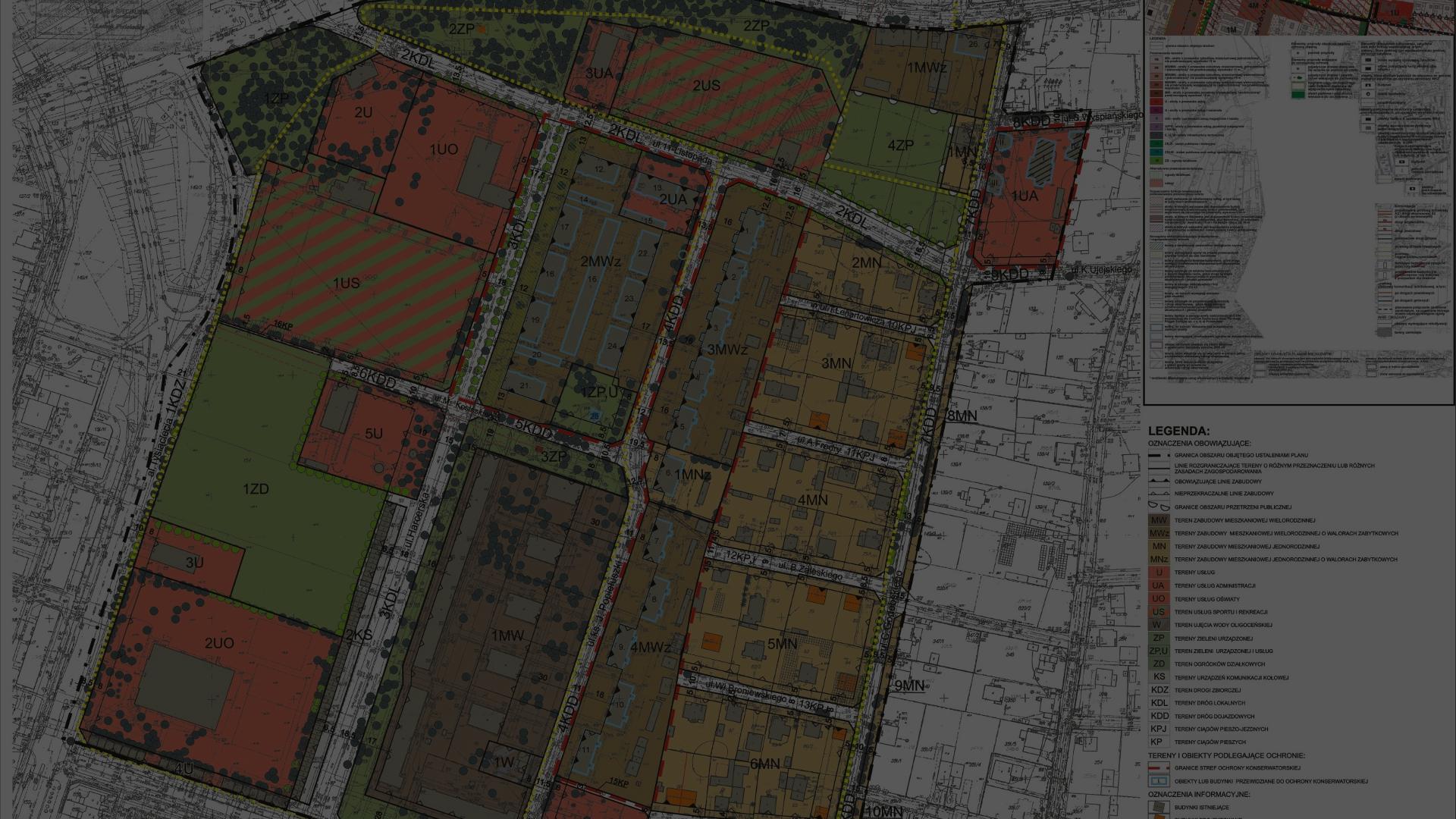 Zmiany studium zagospodarowania przestrzennego Gminy Skawina